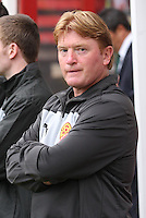 Stuart McCall in the Motherwell v Panathinaikos UEFA Champions League 3rd Qualifying Round 1st Leg match at Fir Park, Motherwell on 31.7.12.