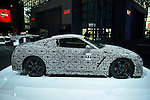 The camouflaged 2013 Nissan GT-R Nismo is on display at the New York International Auto Show 2016, at the Jacob Javits Center. This was Press Preview Day one of NYIAS, and the Trade Show will be open to the public for ten days, March 25th through April 3rd.