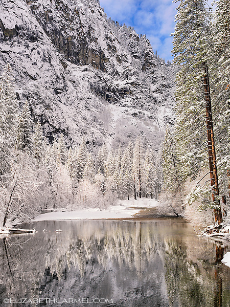 Merced River in Winter