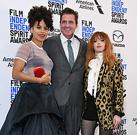 21 November 2019 - Los Angeles, California - Zazie Beets, Josh Welsh, Natasha Lyonne. 2019 Film Independent Spirit Awards Nominations held at The Line LA. Photo Credit: Birdie Thompson/AdMedia