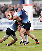 Bedford, England. Mark Wilson of Newcastle Falcons in action during The Championship Bedford Blues vs Newcastle Falcons at Goldington Road  Bedford, England on November 3, 2012