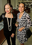 Romina Sumpter and Maria Barnabe at a Dress for Dinner event featuring shoe designer Edgardo Osorio at Saks Fifth Avenue Wednesday Oct. 28, 2015.(Dave Rossman photo)