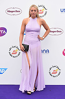 Carina Witthoeft<br /> arriving for the Tennis on the Thames WTA event in Bernie Spain Gardens, South Bank, London<br /> <br /> ©Ash Knotek  D3412  28/06/2018