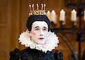 Twelfth Night I by William Shakespeare. A Shakespeare's Globe Production directed by Tim Carroll. With Mark Rylance as Olivia. Opens at The Apollo Theatre  on 17/11/12. CREDIT Geraint Lewis