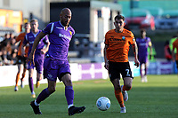 Alex Finney of Maidstone United and Dave Tarpey of Barnet during Barnet vs Maidstone United , Vanarama National League Football at the Hive Stadium on 3rd November 2018