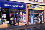 A752NB Cancer Research UK Charity shop and Cash Generator shop Great Yarmouth Norfolk England. Image shot 04/2006. Exact date unknown.