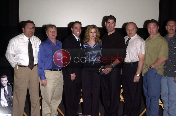 Dennis Franz and Sharon Lawrence and Gordon Clapp and LAPD