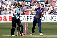 Matt Quinn of Essex during Essex Eagles vs Surrey, Vitality Blast T20 Cricket at The Cloudfm County Ground on 5th August 2018