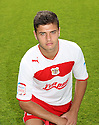 Michael Thalassitis of Stevenage. Stevenage FC photoshoot -  Lamex Stadium, Stevenage . - 16th August, 2012. © Kevin Coleman 2012