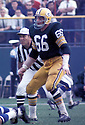 Green Bay Packers Ray Nitschke (66) during a game at Lambeau Field in Green Bay, Wisconsin. Ray Nitschke was inducted to the Pro Football Hall of Fame in 1978.