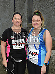 Margaret McGovern and Aisling Shevlin who took part in the Noel Carroll 10k race at Annagassan. Photo:Colin Bell/pressphotos.ie