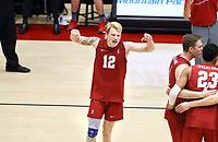 Stanford, CA; April 13, 2019; Men's Volleyball, Stanford vs BYU.