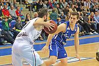 Bastian Doreth (Artland) gegen Max Merz (Skyliners) - Fraport Skyliners vs. Artland Dragons Quakenbrueck, Fraport Arena Frankfurt