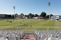 General view of the ground from the Tom Pearce upper stand prior to Essex CCC vs Kent CCC, Bob Willis Trophy Cricket at The Cloudfm County Ground on 2nd August 2020