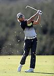 Brad Shilton during the Autex Muriwai Open, Muriwai Golf Club, Auckland, Saturday 30 April 2016. Photo: Simon Watts/www.bwmedia.co.nz