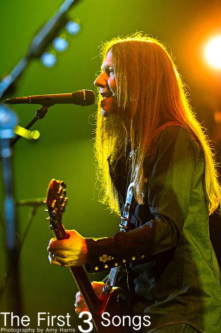 Charlie Starr of Blackberry Smoke performs at US Bank Arena in Cincinnati, Ohio on December 30, 2012.