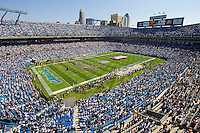 09/16/07 :  Fans begin to fill the stands of  Bank of America stadium before the start of a Carolina Panthers' game.