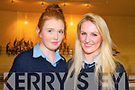 Ballybunion Awards: Attending the Ballybunion School Awards night at the Tintean Theatre on Friday night last were Roisin Cummins & Jennifer Brosnan.