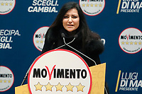 Claudia Giacchetti<br /> <br /> Roma 29/01/2018. Presentazione dei candidati nelle liste uninominali del Movimento 5 Stelle.<br /> Rome January 29th 2018. Presentation of the candidates for Movement 5 Stars.<br /> Foto Samantha Zucchi Insidefoto