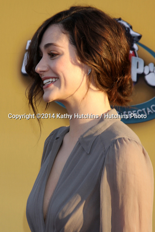 "LOS ANGELES - NOV 22:  Emmy Rossum at the FOX's ""Cause for Paws:  All-Star Dog Spectacular"" at the Barker Hanger on November 22, 2014 in Santa Monica, CA"