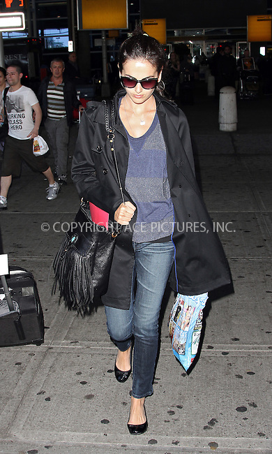 WWW.ACEPIXS.COM . . . . .  ....May 6 2012, New York City....Actress Camila Belle arriving at JFK airport on May 6 2012 in New York City....Please byline: John Peters - ACE PICTURES.... *** ***..Ace Pictures, Inc:  ..Philip Vaughan (212) 243-8787 or (646) 769 0430..e-mail: info@acepixs.com..web: http://www.acepixs.com