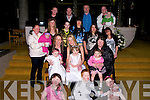 CHRISTENING: On Saturday in St John's Church, Tralee, Shinia May Coffey and Alysha Coffey who were christened...................