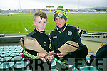 Jack Brosnan, Lixnaw and Keltyn Molloy, Lixnaw at Kerry's win over Carlow at Austin Stack's park on Sunday