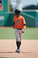 Baltimore Orioles shortstop Jean Carmona (52) during a Florida Instructional League game against the Boston Red Sox on September 21, 2018 at JetBlue Park in Fort Myers, Florida.  (Mike Janes/Four Seam Images)