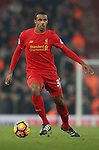 Joel Matip of Liverpool during the Premier League match at the Anfield Stadium, Liverpool. Picture date: November 26th, 2016. Pic Simon Bellis/Sportimage