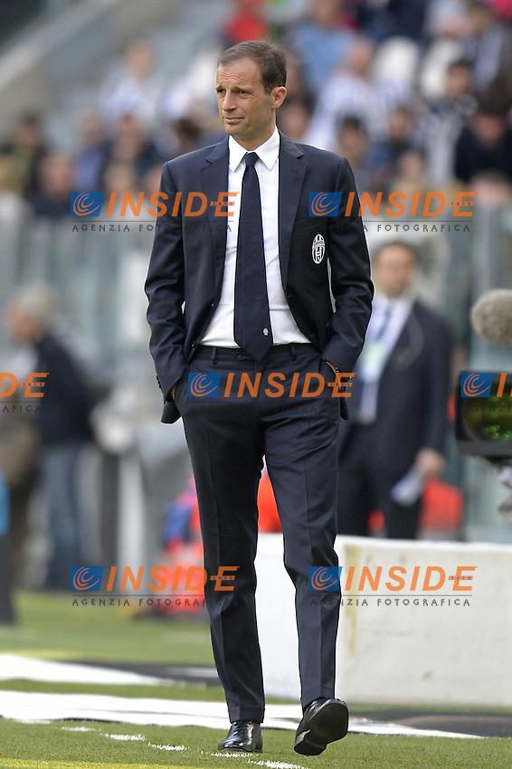 Massimiliano Allegri,<br /> Torino 17-04-2016, Juventus Stadium, Football Calcio 2015/2016 Serie A, Juventus - Palermo, Foto Filippo Alfero/Insidefoto