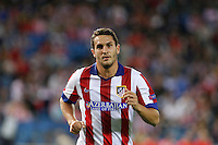 Koke of Atletico de Madrid during Champios Legue soccer match between Atletico de Madrid V Malmoe al Vicente Calderon Stadium. October 22, 2014. (ALTERPHOTOS/Caro Marin)