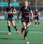 AMSTELVEEN -  ?  tijdens   de oefenwedstrijd tussen Amsterdam en Laren dames   COPYRIGHT KOEN SUYK