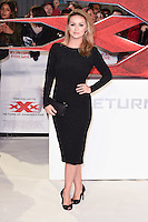 "Ola Jordan<br /> at the ""xXx: Return of Xander Cage"" premiere at O2 Cineworld, Greenwich , London.<br /> <br /> <br /> ©Ash Knotek  D3216  10/01/2017"