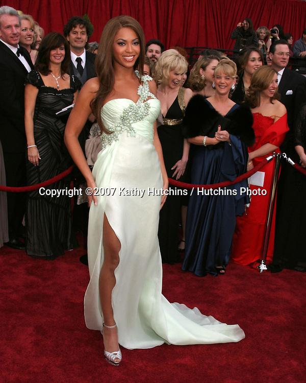 Beyonce Knowles.79th Annual Academy Awards.Kodak Theater .Hollywood & Highland.Hollywood, CA.February 25, 2007.©2007 Kathy Hutchins / Hutchins Photo....
