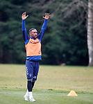 22.11.2019 Rangers training: Jermain Defoe