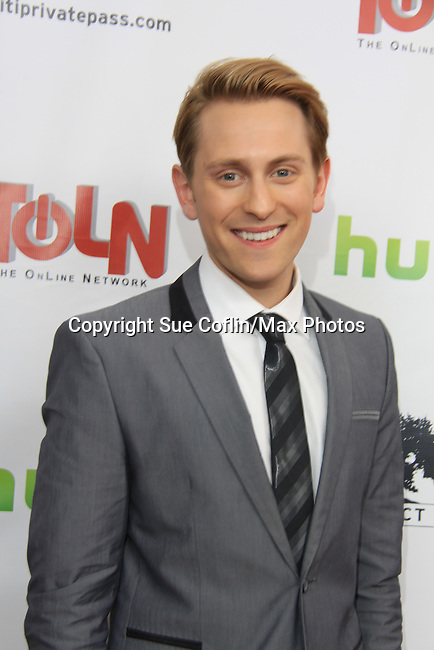 "Prospect Park's All My Children's Eric Nelsen ""AJ Chandler"" on the Red Carpet at New York Premiere Event for beloved series ""All My Children"" on April 23, 2013 at NYU Skirball, New York City, New York  as The Online Network (TOLN) - AMC - OLTL  begin airing on April 29, 2013 on Hulu, Hulu Plus. (Photo by Sue Coflin/Max Photos)"