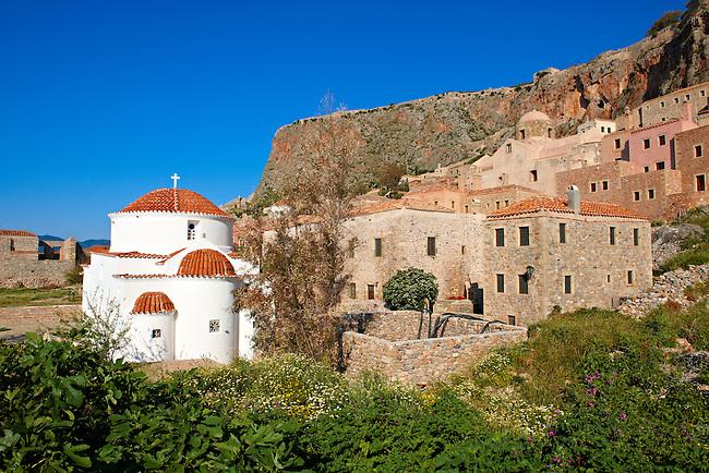Otrthodox Church of Monemvasia (  ),   Peloponnese, Greece