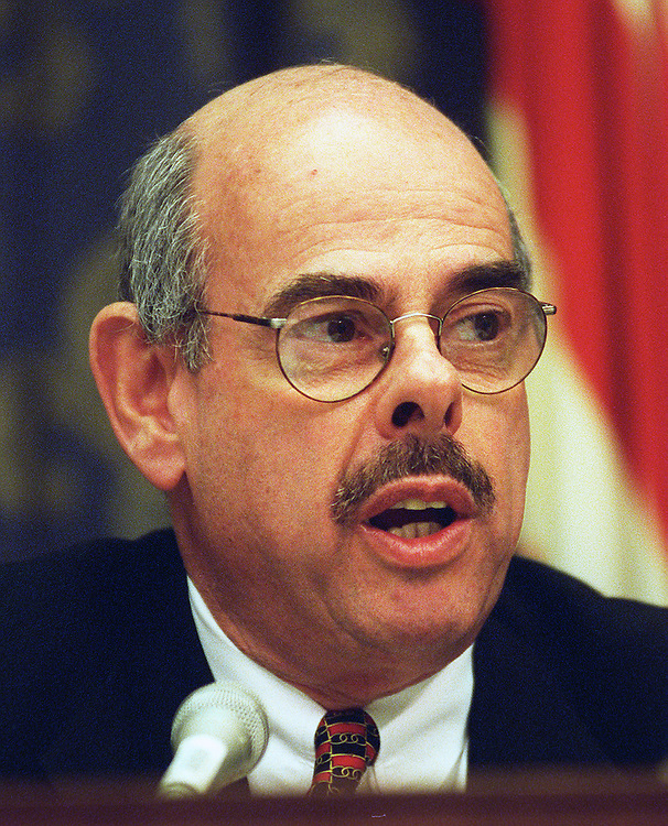 11/06/97.HOUSE CAMPAIGN FINANCE HEARINGS--Ranking member Henry Waxman, D-Calif., during the hearing..CONGRESSIONAL QUARTERLY PHOTO BY SCOTT J. FERRELL
