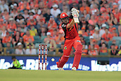 8th January 2018, The WACA, Perth, Australia; Australian Big Bash Cricket, Perth Scorchers versus Melbourne Renegades; Cameron White of the Melbourne Renegades cover drives towards the boundary during his innings