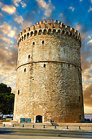 The Ottoman White Tower of Thessaloniki (1535–1536), symbol of Thealonika. Greece