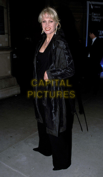 "JOANNA LUMLEY..""Tiaras"" private view at the Victoria & albert Museum. Joanna Lumley..Ref: 11544..v&a, black..www.capitalpictures.com..sales@capitalpictures.com..©Capital Pictures..full length, full-length"