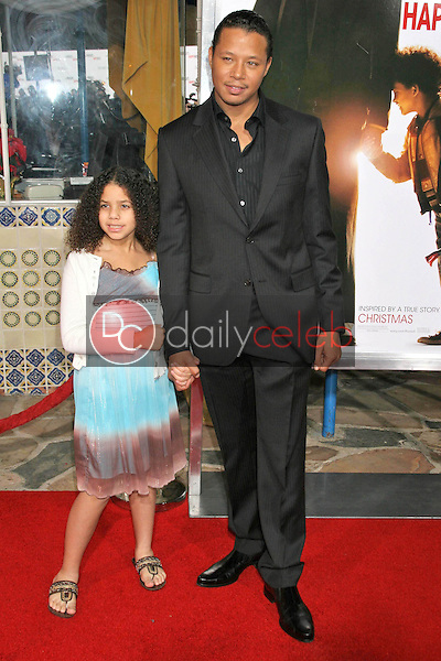 Terrence Howard and daughter<br />