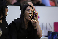 NZ coach Noeline Taurua during the Constellation Cup Series international netball match between the New Zealand Silver Ferns and Samsung Australian Diamonds at TSB Bank Arena in Wellington, New Zealand on Thursday, 18 October 2018. Photo: Dave Lintott / lintottphoto.co.nz