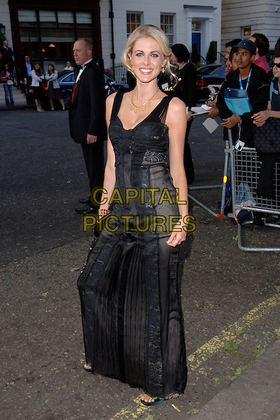 DONNA AIR.Glamour magazine's 3rd Annual Woman of the Year Awards.Berkeley Square Gardens - Arrivals.6th June 2006 London, England.Ref: FIN.full length black dress.www.capitalpictures.com.sales@capitalpictures.com.© Capital Pictures.