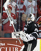 Justin Gates (PC - 29) - The Boston University Terriers defeated the visiting Providence College Friars 6-1 on Friday, January 20, 2012, at Agganis Arena in Boston, Massachusetts.