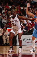 1 January 2006: Eziamaka Okafor during Stanford's 91-68 win over the UCLA Bruins at Maples Pavilion in Stanford, CA.