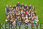 Dr Crokes U6, U8 and U10 players pictured during their first training session of the year at the club in Lewis Road, Killarney on Saturday morning.....................