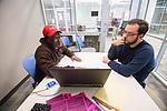 UM's Writing Center.  Photo by Kevin Bain/University Communications Photography