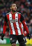 Leon Clarke of Sheffield Utd during the Championship match at Bramall Lane Stadium, Sheffield. Picture date 30th December 2017. Picture credit should read: Simon Bellis/Sportimage