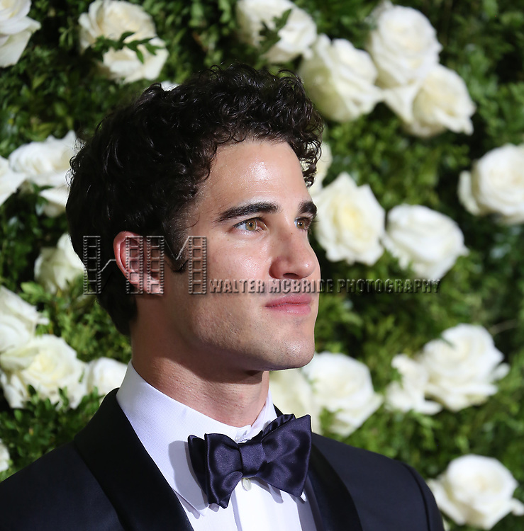 Darren Criss attends the 71st Annual Tony Awards at Radio City Music Hall on June 11, 2017 in New York City.
